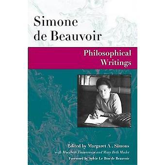 Escrituras filosóficas por Simone de Beauvoir - Margaret A. Simons - 9
