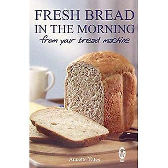 Vers brood in de ochtend van uw brood Machine