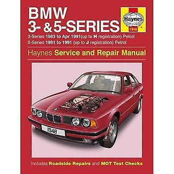 BMW 3 - serie & 5 benzine (81-91) Haynes reparatie handleiding (Haynes Service en reparatie handleidingen)