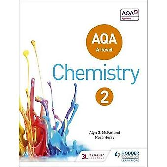 AQA A poziom chemii Student Book 2 (AQA A poziom nauki)