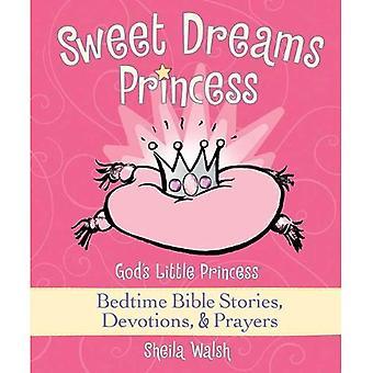 Dulces sueños princesa: De Dios historias de la Biblia antes de dormir poco princesa, devociones y oraciones