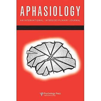 La syllabe et au-delà (numéros spéciaux de Aphasiology)