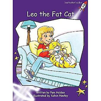 Leo den Fat Cat: nivå 3: flyt (röd raket läsare: Fiction uppsättning A)