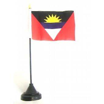 Antigua & Barbuda tabel vlag met Base en Stick