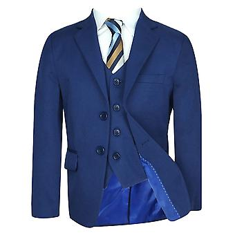 Boys Formal Parliament Blue Suit Set