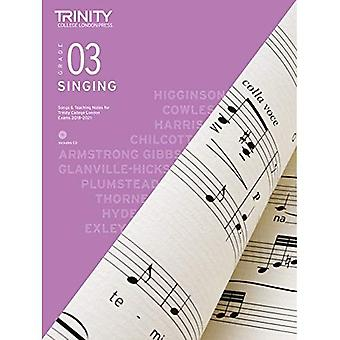 Trinity College London Singing Grade 3 2018-2021