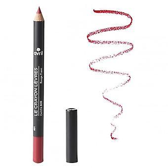 Avril Certified Organic Lip Liner Pencil - Rouge Franc