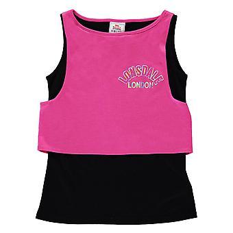 Lonsdale Kids lager Vest Junior flickor