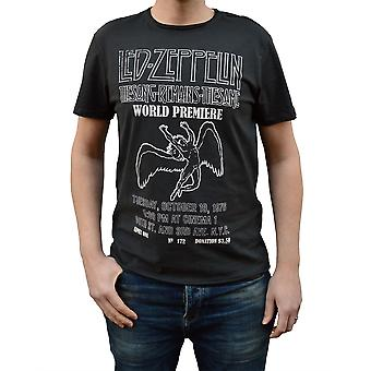 Amplified Led Zeppelin The Song Remains Charcoal Crew Neck T-Shirt S