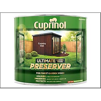 Cuprinol Ultimate Garden Wood Preserver Country Oak 1 Litre