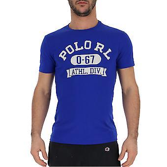 Ralph Lauren Blue Cotton T-shirt