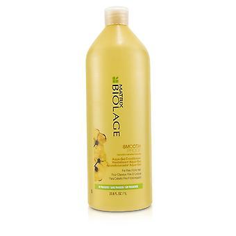 Matrix Biolage SmoothProof Aqua-gel Conditioner (för fina fizzy Hair)-1000ml/33,8 oz