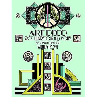 Art Deco Spot Illustrations and Motifs - 513 Original Designs by Willi