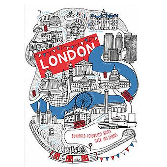 London Advanced Colouring Book by Ruby Lawrence - 9781911242390 Book