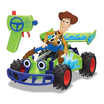 Disney Pixar Toy Story RC Buggy with Woody Remote Control Toy
