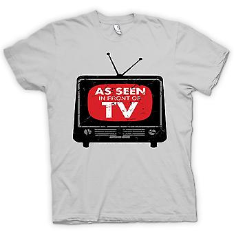 Kids T-shirt - As Seen In Front Of TV - Funny