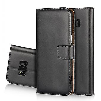 Wallet Pouch Galaxy S8 Plus, Genuine leather