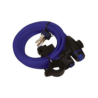 Oxford Blue Cable - 12mm X 1.8m Motorcycle Lock