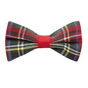Tartan rouge traditionnelle cocher noeud papillon, Plaid, Stewart Tartan, Ecosse Highland, Scottish Look