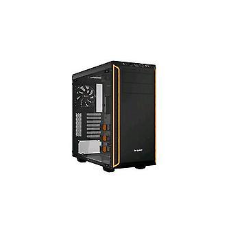 Be quiet! bgw20 case midi tower atx pure base 600 window 7 hdd slot-2xusb 3.0-atx, micro-atx, mini-itx black orange color