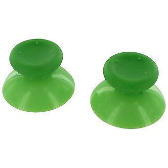 Concave analog thumbsticks grip sticks for microsoft xbox 360 controllers - 2 pack green