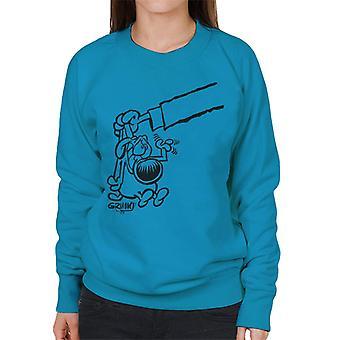 Grimmy Bad Dog Women's Sweatshirt
