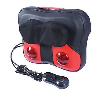 Pude pude justerbar massager | Varme vibration æltning massage