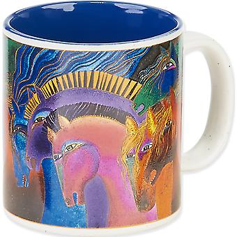 Laurel Burch Artistic Mug Collection Wild Horses Of Fire Lbm 302