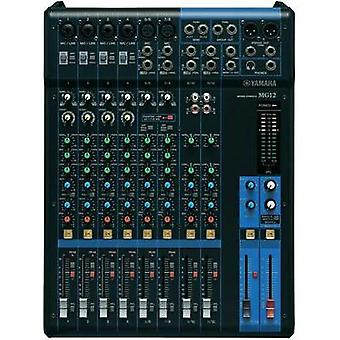 Mixing console Yamaha MG12 No. of channels:12