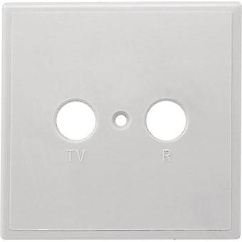 Antenna socket cover TV, FM Axing TZU 2 ABDECKUNG Surface-mount