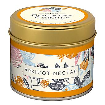 Fragrant Orchard Candle in a Tin - Apricot Nectar