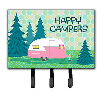 Happy Campers Glamping Trailer Leash or Key Holder VHA3004TH68