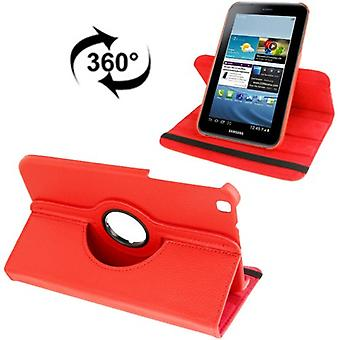 Cover tray ash (flip cross) for Samsung Galaxy tab 3 8.0 T3110 T3100 Red
