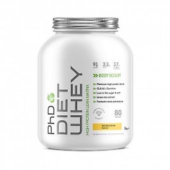 PhD - PhD Diet Whey - 2Kg - Vanilla Creme