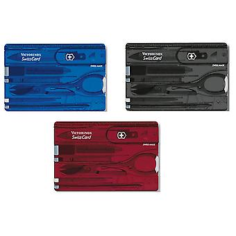 Victorinox Swiss Card - Multi Function Swisscard Tool - various colours