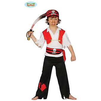Guirca Pirate Costume Child 5-6 years (Kostuums)