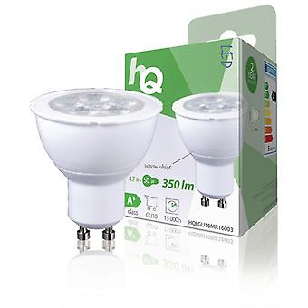 HQ LED-lampa MR16 GU10 4,7 W 350 lm 2700 K