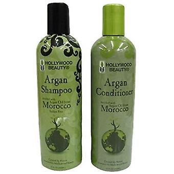 Hollywood Beauty Argan Shampoo & Conditioner set 12oz