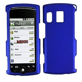 Unlimited Cellular Rubberized Snap-On Case for Sprint Kyocera Zio M6000 - Blue