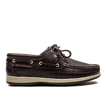 Men's Atlantic Leather Boat Shoes - Old Rum