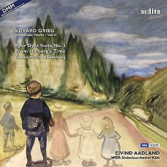 Grieg / Aadland / Wdr Sym Orch Cologne - Symphonic Works 2 [Vinyl] USA import