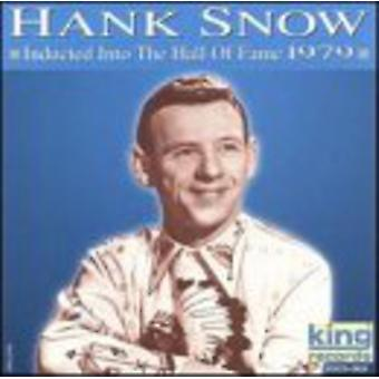 Hank Snow - Hall Of Fame [CD] 1979 USA importieren