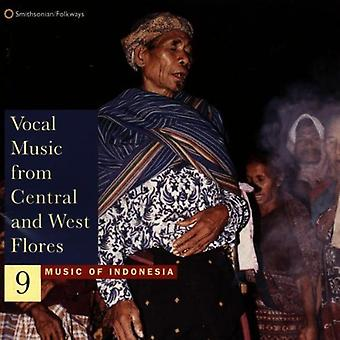 Music of Indonesia 9 - Vocal Music From Central & Wes [CD] USA import