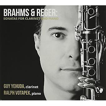 Brahms / Yehuda, fyr / Votapek, Ralph - sonater for klarinet & Piano [CD] USA import