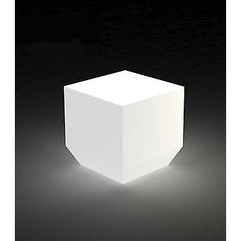 Vondom Resteve Candle lamp cube 40X40X40 ice light