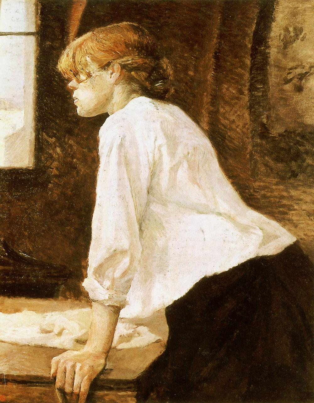 Henri Toulouse Lautrec - Leaning over Poster Print Giclee