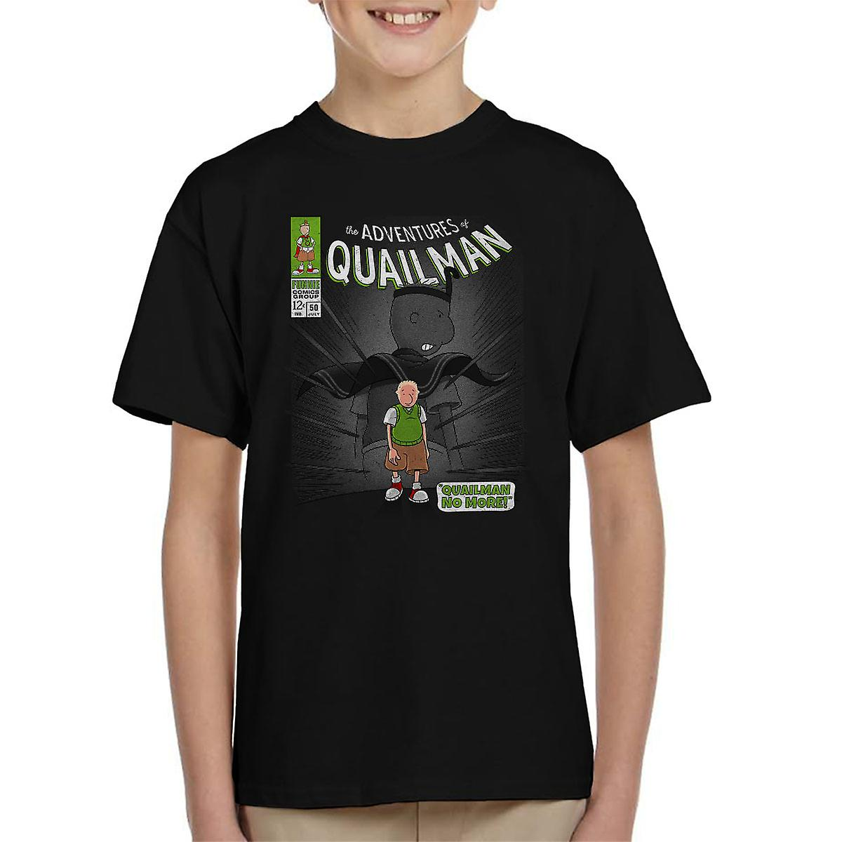 quailman keine weitere doug comic superhelden kinder t shirt fruugo. Black Bedroom Furniture Sets. Home Design Ideas