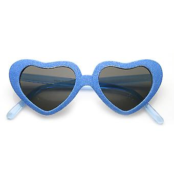 Super Oversized Heart Shape Colorful Glitter Party Novelty Sunglasses