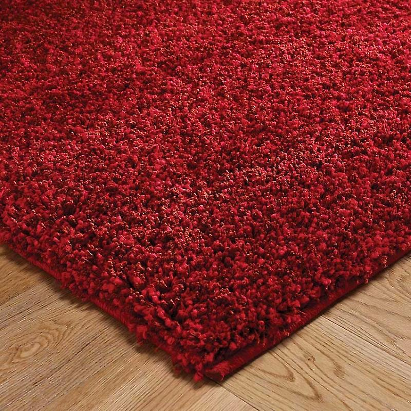 Harmony Red Red Rectangle Rugs Plain/Nearly Plain Rugs