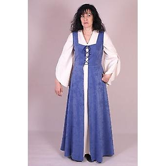 Medieval Factory Brial Medieval Mujer Izani color azul (Costumes)
